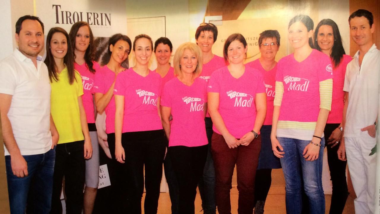 Auch dieses Jahr wieder medizinischer Partner des Tiroler Frauenlaufes.
