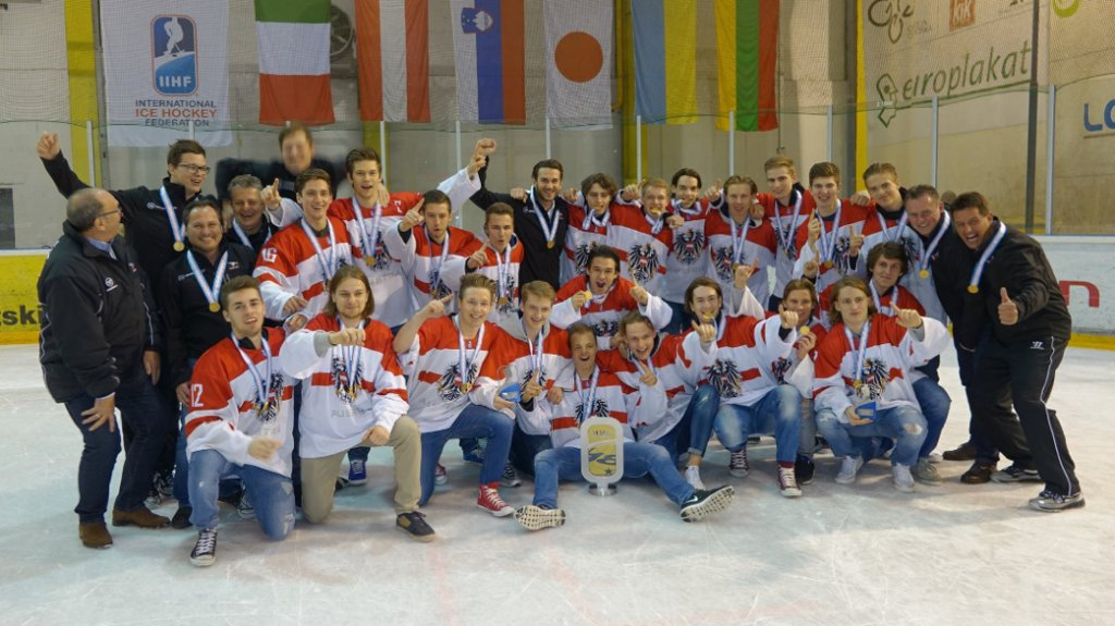 U-18 Eishockey Nationalteam holt den Weltmeistertitel