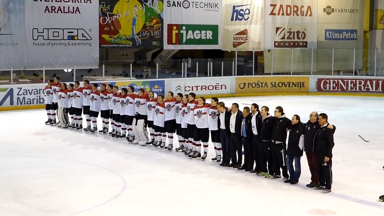 Eishockey U-18 WM in Minsk